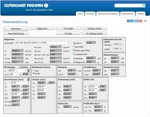 Federnberechnung WinFSB - Gutekunst Federn