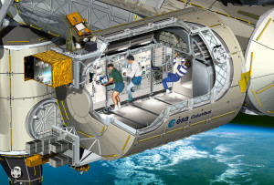 ISS Raumstation Labor