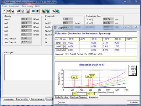 Neues Federnberechnungsprogramm WinFSB 8